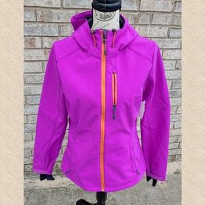 *NWT* H&M Sport Lined Running Hooded Jacket 8